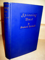 1st Edition Spinning Dust Brainerd Beckwith Novel First Printing Fiction Illust