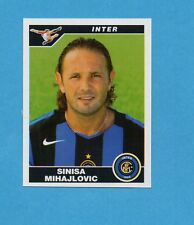 Panini Calciatori 2004//05 n 156 MIHAJLOVIC INTER  PERFETTA DA BUSTINA!!!