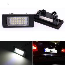 2Pcs No Error LED License Plate Light For BMW E39 E60 E61 E70 E82 E90 E92 24SMD