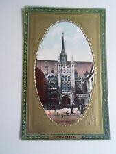 "LONDON, The Guildhall Raphael Tuck+Sons ""Framed Gem Glosso"" Postcard 713  §A2174"