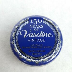 Vaseline Limited Edition Vaseline 150 Year Vintage Lip Balm Tin ~ 0.6oz