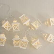 135m Lantern Shape String Light 10-LED Night Hanging Decor Warm White