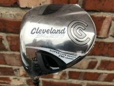 CLEVELAND sl290 460 1 WOOD DRIVER GOLF CLUB 9 DEG STIFF GRAPHITE LEFT HAND