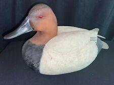 Canvasback Duck Decoy by George Kruth Danbury Mint