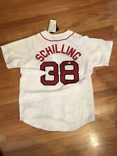 CURT SCHILLING Auto Signed Jersey COA GAI With Tags