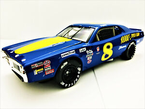 Dale Earnhardt ACTION #8 10,000 RPM Reverse Paint Dodge Charger Custom Die-cast