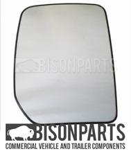 *FORD TRANSIT MK6 & MK7 00-13 MANUAL DOOR MIRROR GLASS DRIVERS SIDE RH UT6713R