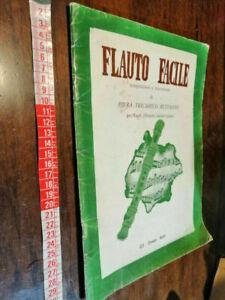 LIBRO -Musica flauto facile tricarico bettanini spartiti