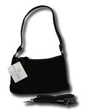 Donna Sharp Quilted Handbag Purse BLACK VELVET small Bag KYLIE Day/ Evening  NWT