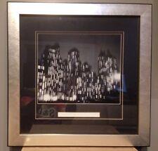 Vintage Silver Framed Ted Croner Photographic Print Central Park South 1947