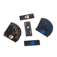 New Waterproof Black Frosted Playing Cards Plastic Deck Card Games Supplies