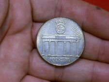 1933 NAZI GERMAN FUHRER REICHSTAG WWII COLLECTABLE COIN