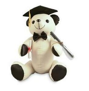Graduation Signature Message Bear Milestone Memories with Pen & Scroll