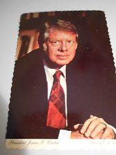 Continental Postcard -- President Jimmy Carter -- portrait photo