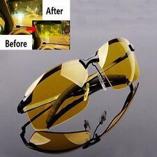 Anti Glare Vision HD Glasses Prevention Yellow Driver Night Driving Sunglasses