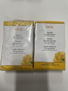 GiGi Small Facial Waxing Wood Applicators 2 - Packs 100pk  #0400