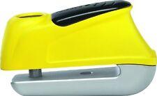 Antifurto bloccadisco sonoro da moto scooter 110 db Abus Trigger Alarm 350 Giall