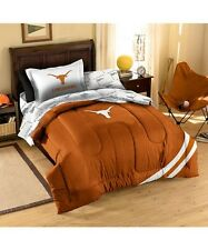 Texas Longhorns comforter 5PC 64x86 Twin size sham sheets FREE SHIPNG UT bedding