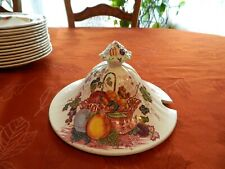 Mason's Patent Ironstone Fruit Basket - Red Lid for Soup Tureen             14-4