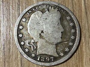 1/4 Quarter Dollar Silver USA 1897 - 1964 Barber/Washington