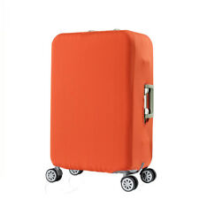 """Plain Travel Luggage Cover and Suitcase Protector, Orange XL, 29-32"""" Luggage"""