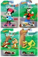 Hot Wheels Disney Characters Set of 4 Collectable Diecast Vehicles