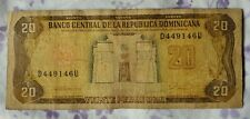 1990 Dominican Republic 20 Pesos Oro Banknote