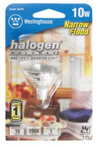 Westinghouse  10 watts MR11  Halogen Bulb  78 lumens White  Floodlight  1 pk