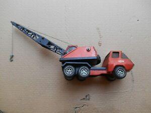 1970s Orange Tonka Crane Truck