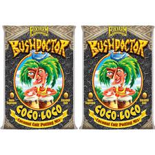 FoxFarm FX14100 Bush Doctor Coco Loco Plant Garden Potting Soil Mix - 2 Cubic ft (2 Pack)