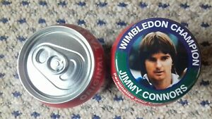 JIMMY CONNORS  WIMBLEDON CHAMPION BADGE 55mm IN SIZE