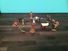 Safari Ltd Western Cowboy Indian Family Teepee Annie Oakley Figure Lot