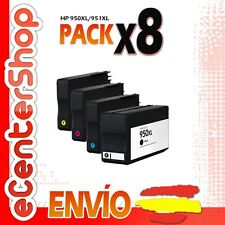 8 Cartuchos de Tinta NON-OEM 950/951XL - HP Officejet Pro 8600 Plus