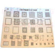 NEW FOR SAMSUNG 9100 9000 BGA REWORK REBALLING STENCIL TEMPLATE FOR IC REPAIR
