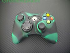 1x Brand new Xbox360 Controller Silicon Protective Cover- Dark Green Black Mix