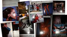 Vtg clippings by  Guy Bourdin French Vogue Paris elle 1987 fashion model catalog