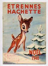 Catalogue Hachette Etrennes  Ed. Hachette 1948 TBE