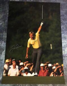 GFA PGA Open Masters Champion JACK NICKLAUS Signed 12x18 Photo J3 COA