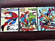 Spiderman, Eks Almanah edition #293, #294, #295 - 3 old Yugoslav comics - Rare