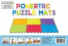 Puzzle Mat 10 SF (5'X2') Foam Mat, Set of 12 Colorful Protection Kids & Toddlers