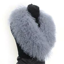 Genuine Mongolian Fur Collar Currents Popular Come Real Lamb Fur Scarves Wraps