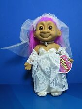 "BRIDE TRACEY - 7""  Russ Troll Dolls - NEW IN ORIGINAL WRAPPER - Rare Hair Color"