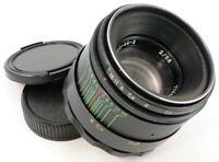 ⭐SERVICED!⭐ 1976!💫 HELIOS 44-2 Made in USSR💫 Lens + Adapt. Canon EOS EF Mount