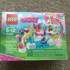Lego 41069 Disney Princess Treasure's day at the pool Whisker haven purse cup