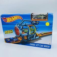 Hot Wheels City Turbo Jet Car Wash Track Play Set Driftsta New In Box