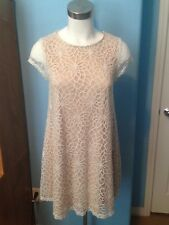 Lovely Day Lace Dress Women's White Size Large Beautiful