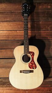 Guild OM-240E Maple Orchestral Acoustic Electric Guitar w/Gigbag OM24E - **NEW**