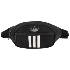 Adidas Crossbody Waist Bag Fanny Pack Belt Festival Pack Pouch Black