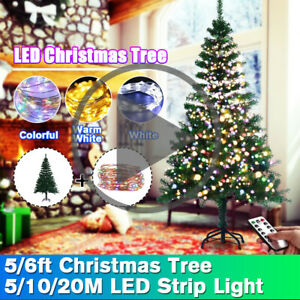 5Ft 1.5m Pro Artificial Christmas Tree 200 Branchs Christmas Xmax Ornament Stand