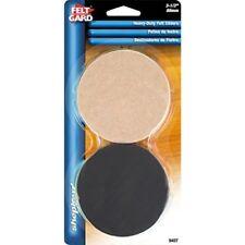 Shepherd Hardware 9407 3-1/2-Inch Reusable,Round, Felt Furniture Slider Pads